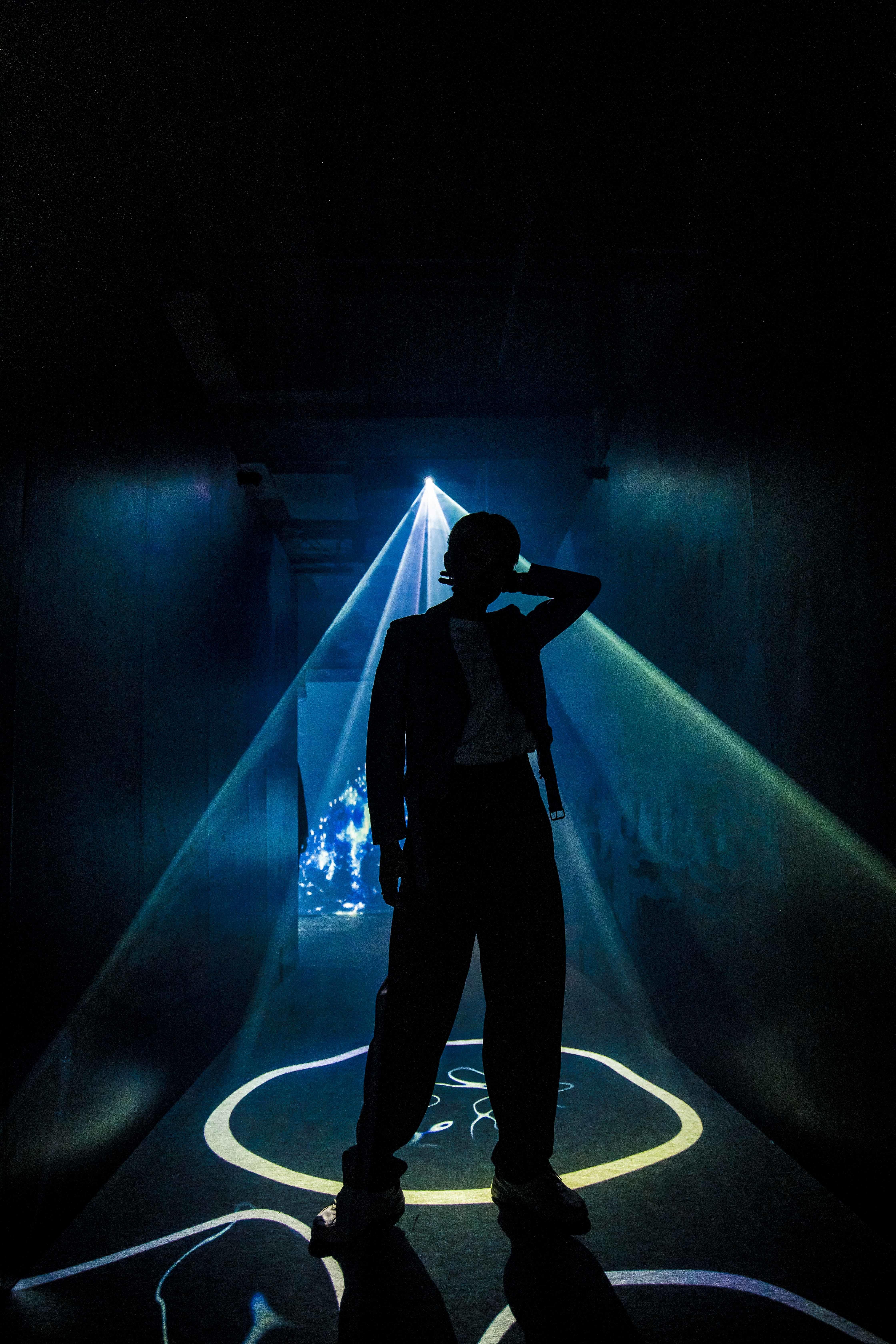 <Deep Sea Tunnel>ではこんなにカッコイイ写真も撮れちゃいます!