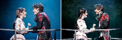 黒羽麻璃央・甲斐翔真、伊原六花・天翔愛の新たなミュージカル『ロミオ&ジュリエット』が開幕 コメント、舞台写真が到着