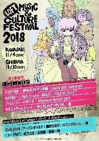 LOFT PROJECTが送る音楽とカルチャーの祭典『LOFT MUSIC & CULTURE FESTIVAL』、 今年は2箇所で開催決定