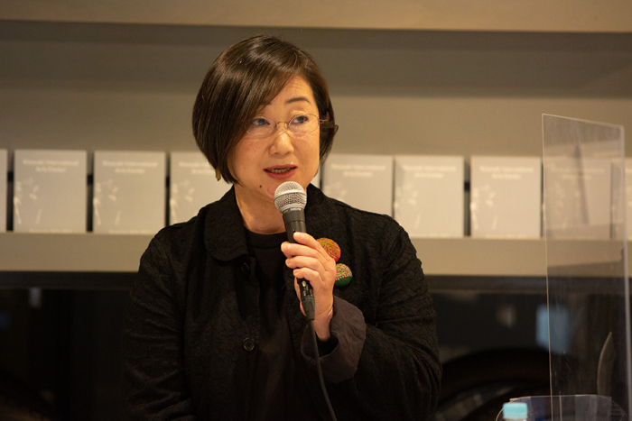 志賀玲子 城崎国際アートセンター新館長 (photo:igaki photo studio)