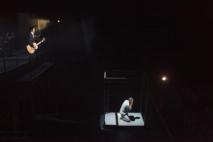 ミュージカル『手紙』2017(ゲネプロの舞台写真)