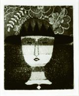 駒井哲郎《R夫人の肖像》1971年 横浜美術館 (c)Yoshiko Komai 2018/JAA1800117