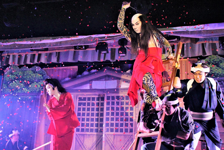 舞踊ショー「それは恋」 海斗が創り出す、赤い情念の世界 荒事の極み
