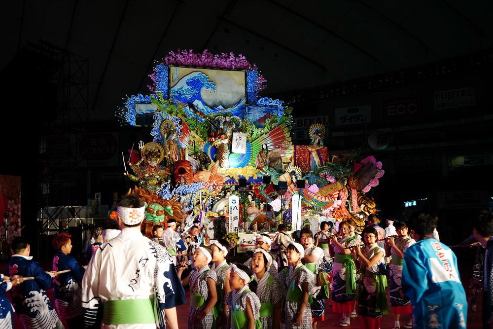 「八戸三社大祭」
