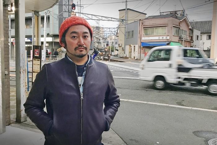 タニノクロウ(庭劇団ペニノ)。 [撮影]吉永美和子(人物すべて)