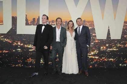 ディカプリオ、ブラピ、タランティーノらが『ワンス・アポン・ア・タイム・イン・ハリウッド』LAプレミアでそろい踏み