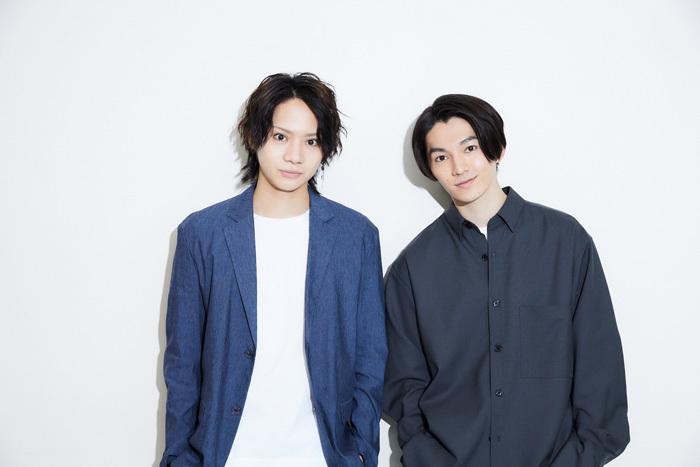 左から 佐藤流司、矢部昌暉(DISH//)