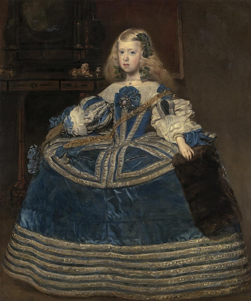ディエゴ・ベラスケス 《青いドレスの王女マルガリータ・テレサ》 1659年 油彩/カンヴァス ウィーン美術史美術館 Kunsthistorisches Museum, Wien