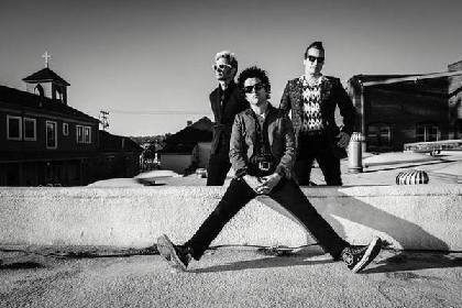 GREEN DAY、10/7にリリースするニュー・アルバム『Revolution Radio』の舞台裏映像公開!