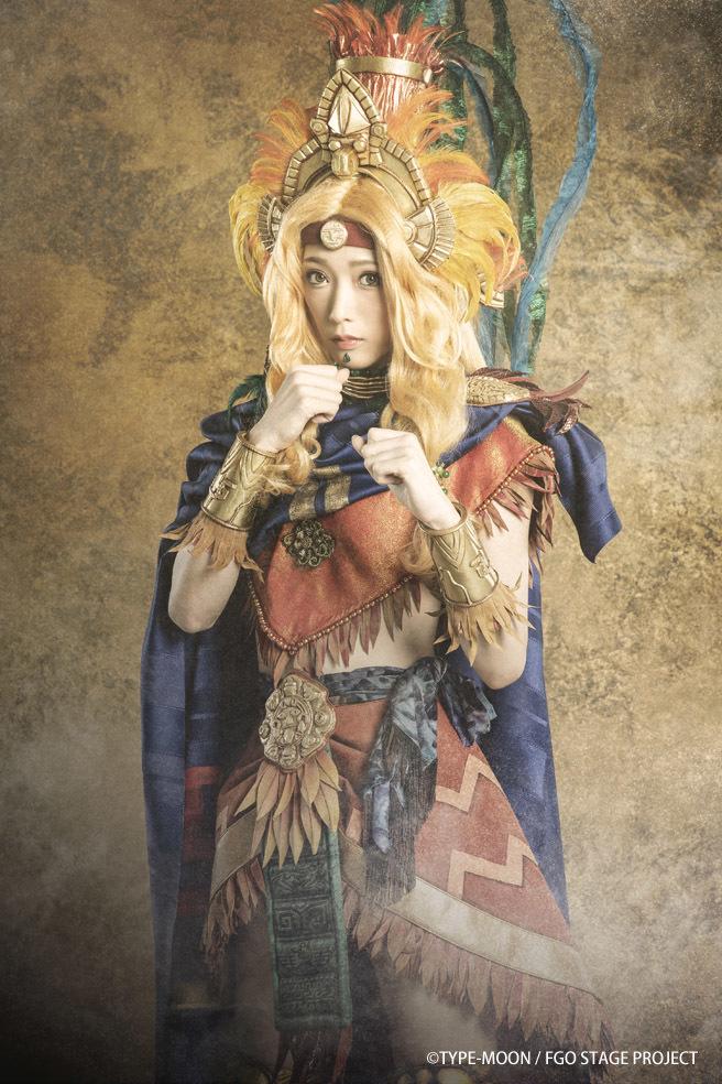 ケツァル・コアトル:赤井沙希 (C)TYPE-MOON / FGO STAGE PROJECT