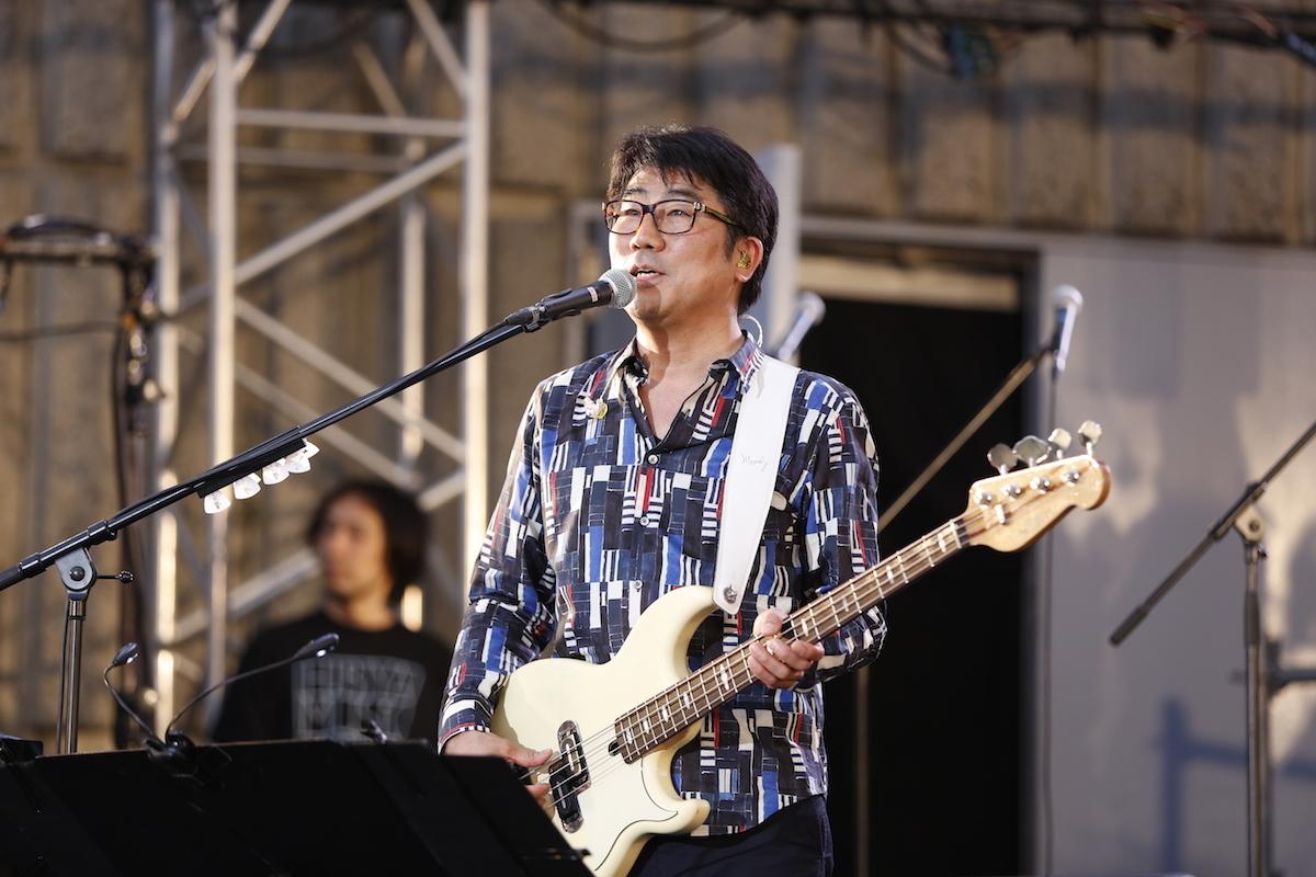 亀田誠治 (写真提供:日比谷音楽祭)