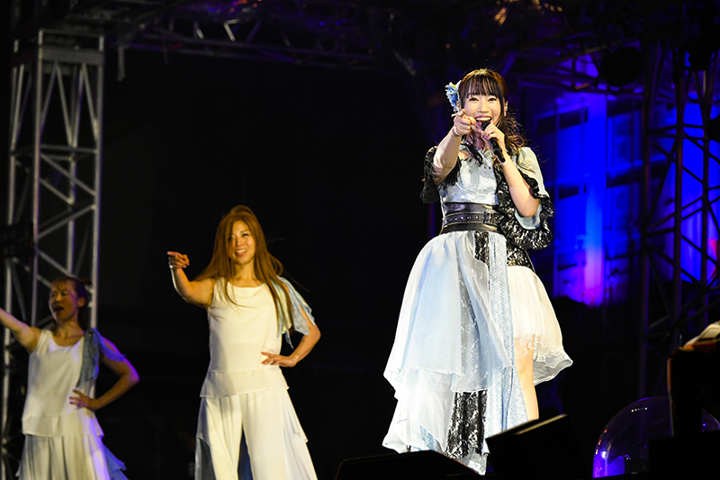 『NANA MIZUKI LIVE EXPRESS 2019』ファイナル公演より 写真:キングレコード提供
