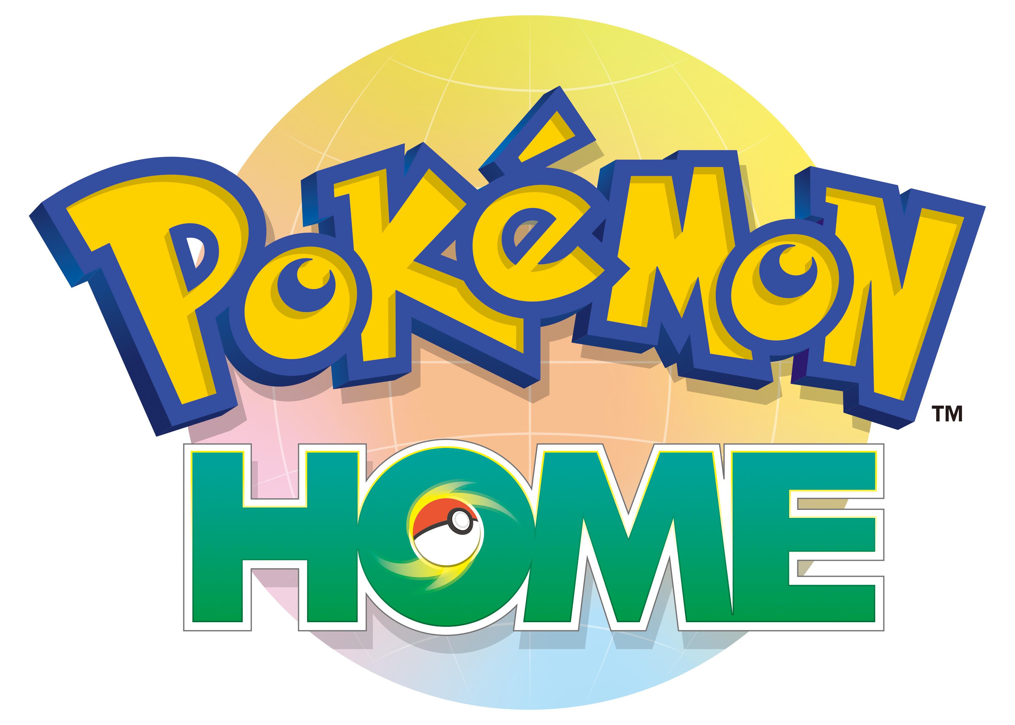 『PokémonHOME』ロゴ (C)2019 Pokemon. (C)1995-2019 Nintendo/Creatures Inc. /GAME FREAK inc.