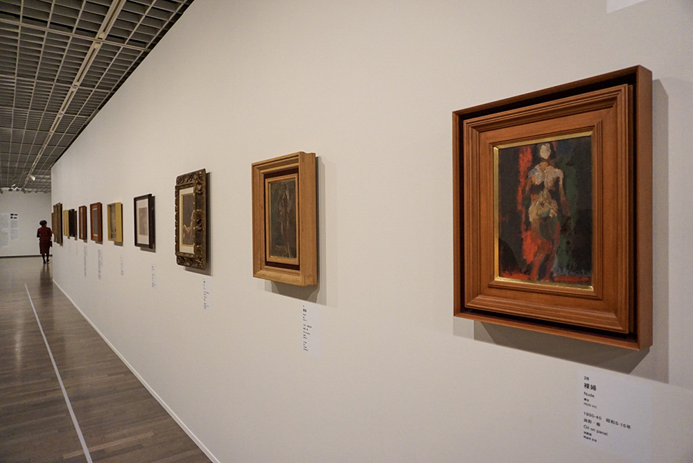 右手前:《裸婦》1930-40年