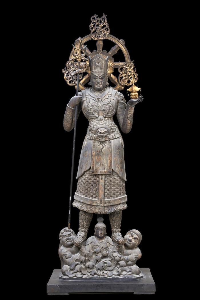 国宝 兜跋毘沙門天立像 唐時代・8世紀 東寺蔵