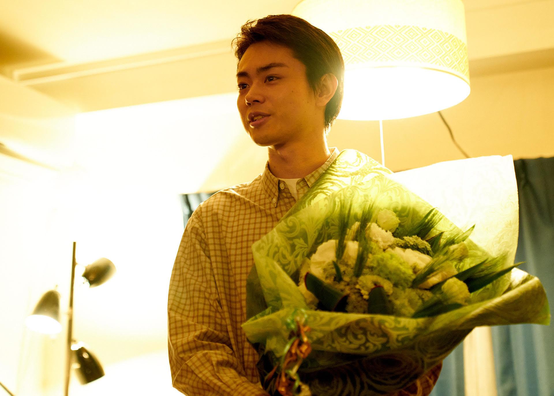 映画『花束みたいな恋をした』メイキング映像より 菅田将暉 (C)2021『花束みたいな恋をした』製作委員会