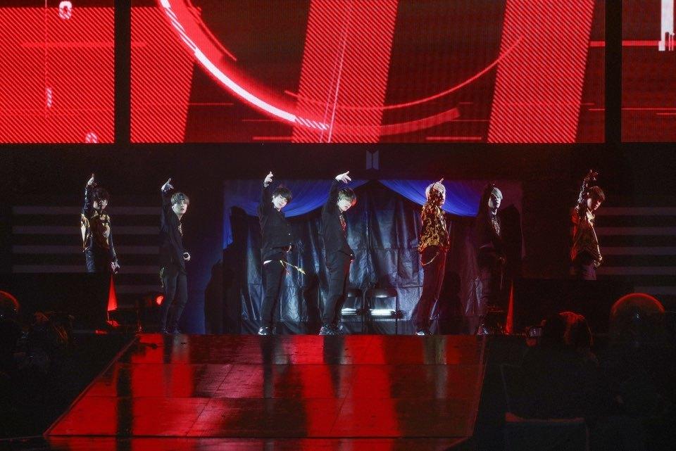 BTS(写真は千葉公演時のもの)  撮影=Big Hit Entertainment