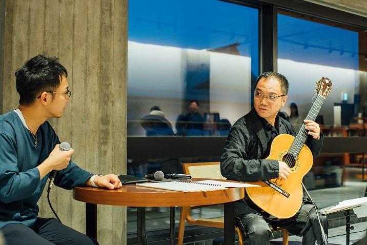 作曲家 酒井健治を招いて開催された「鈴木大介トークセッション」は楽しかった! (C)山本康平
