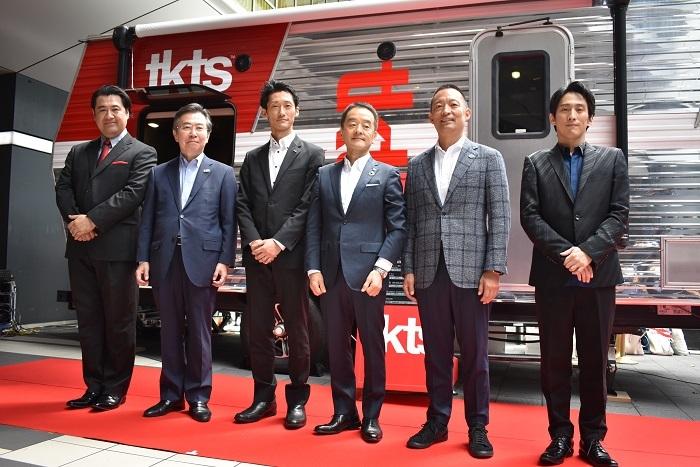 (左から)小手伸也 田端浩 榑松大剛 髙橋和夫 長谷部健 成河