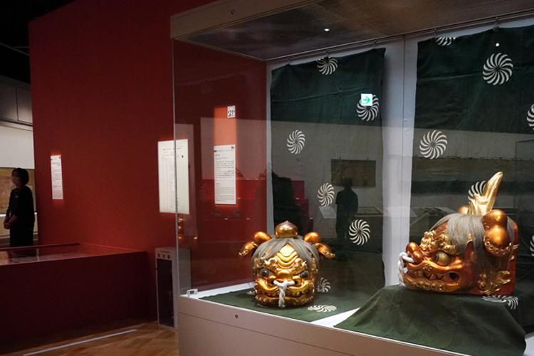 獅子頭一式:世話人家主熊吉・鳶吉五郎・植木屋市兵衛他/造 安政5年(1858)3月 東京都江戸東京博物館