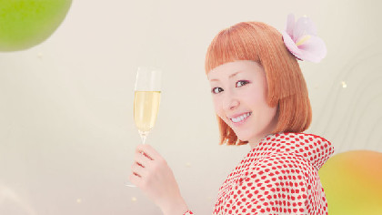 着物姿の木村カエラ、アカペラで「さらりとした梅酒」