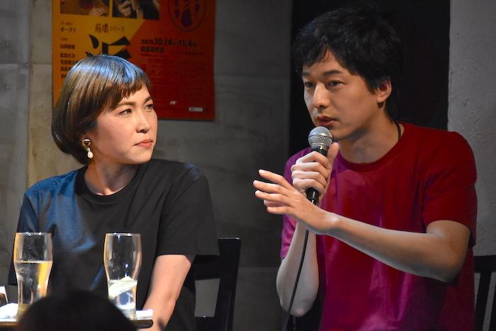 上地春奈、伊藤裕一(左から)