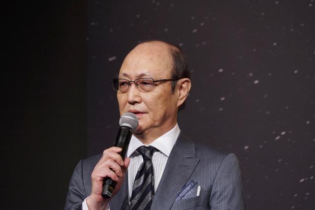 石橋蓮司 映画『孤狼の血』製作発表会
