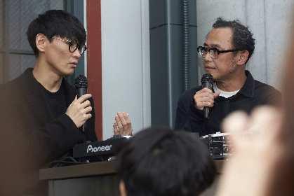 山口一郎×NFの音のない新曲「ANDON」も展示 アートを介して人が出逢う場『MEET@ART』をレポート