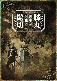 ミュージカル『刀剣乱舞』 髭切膝丸 双騎出陣 2020 ~SOGA~、髭切と膝丸が佇むメインビジュアルが解禁