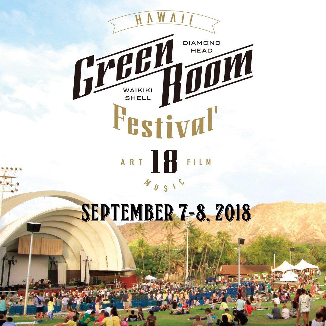GREENROOM FESTIVAL Hawaii'18