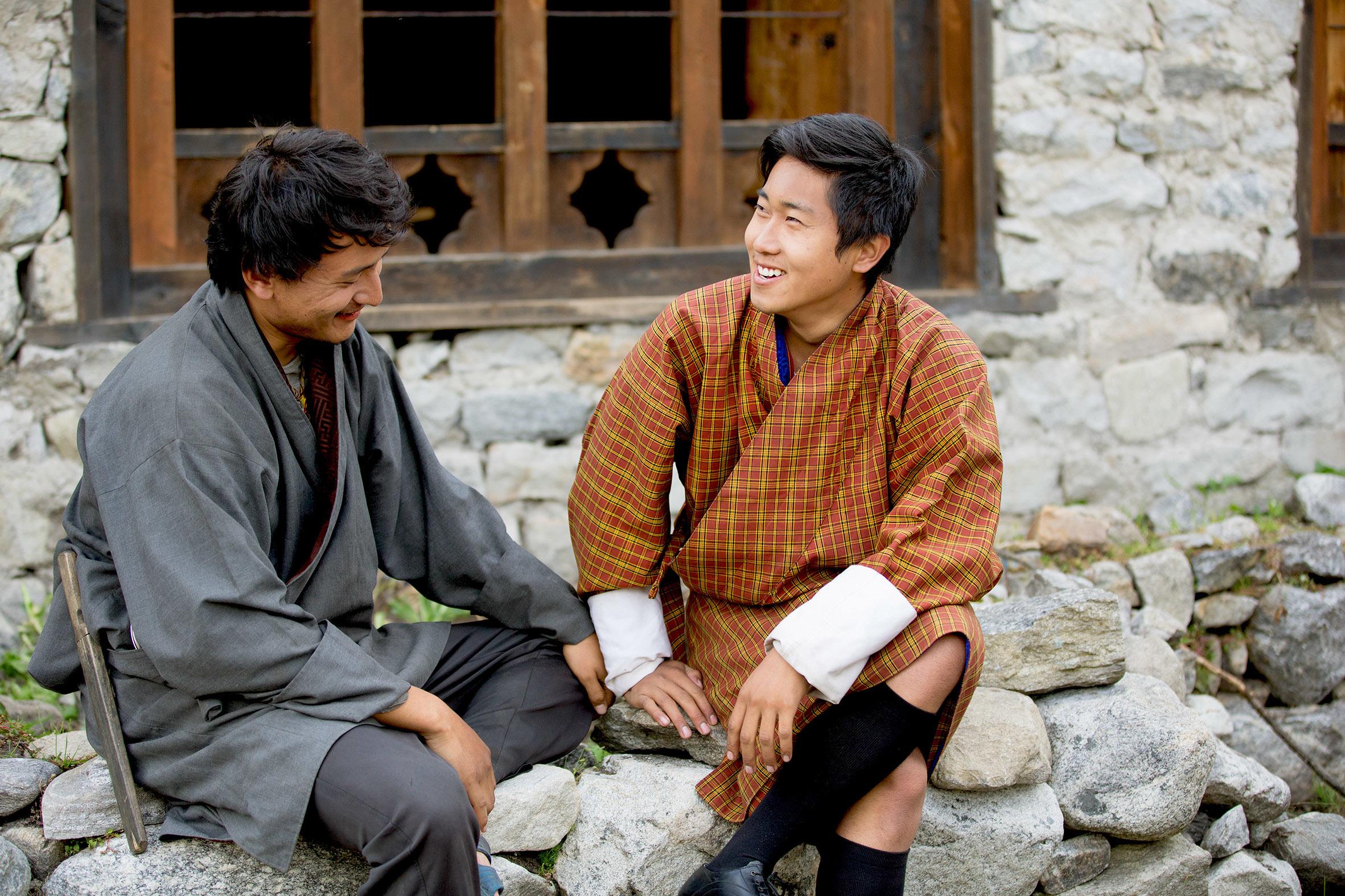 映画『ブータン 山の教室』