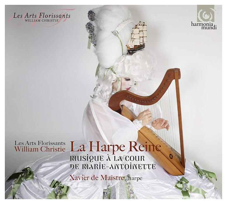 「LA HARPE REINE~王妃のハープ ~マリー・アントワネットの宮廷の音楽」CD