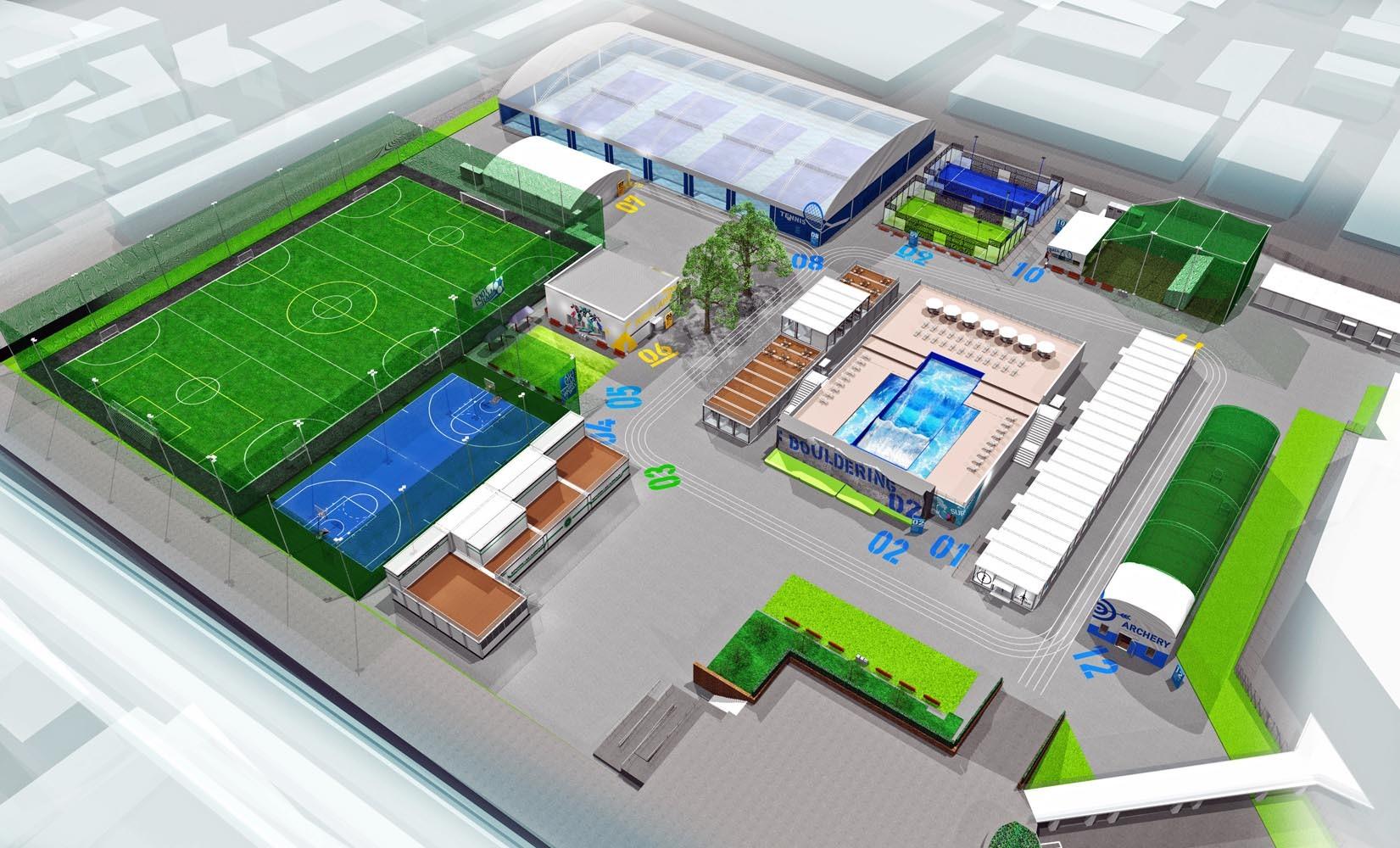 施設全体のイメージ図