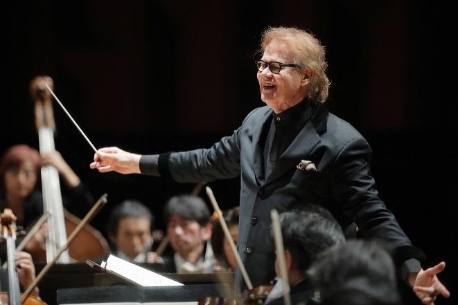 音楽することの喜びを教えてくれるデュメイ。 (C)S.Yamamoto