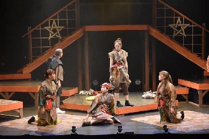 大阪☆春夏秋冬、初舞台『艶姿河内六人娘』の初日開幕