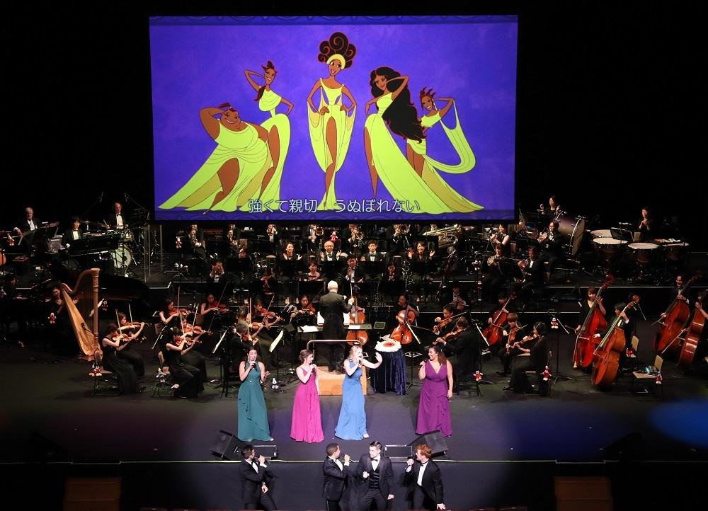 『ヘラクレス』 Presentation licensed by Disney Concerts. (c) Disney (C)1997 Disney