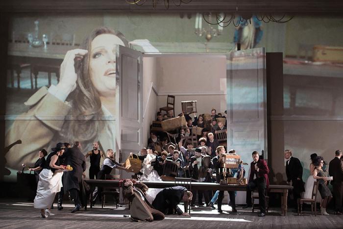 LA FORZA DEL DESTINO. Christoph Loy's new production of La forza del destino (Dutch National Opera) (c) Monika Ritter  (c) ROH Johan Persson (2013)