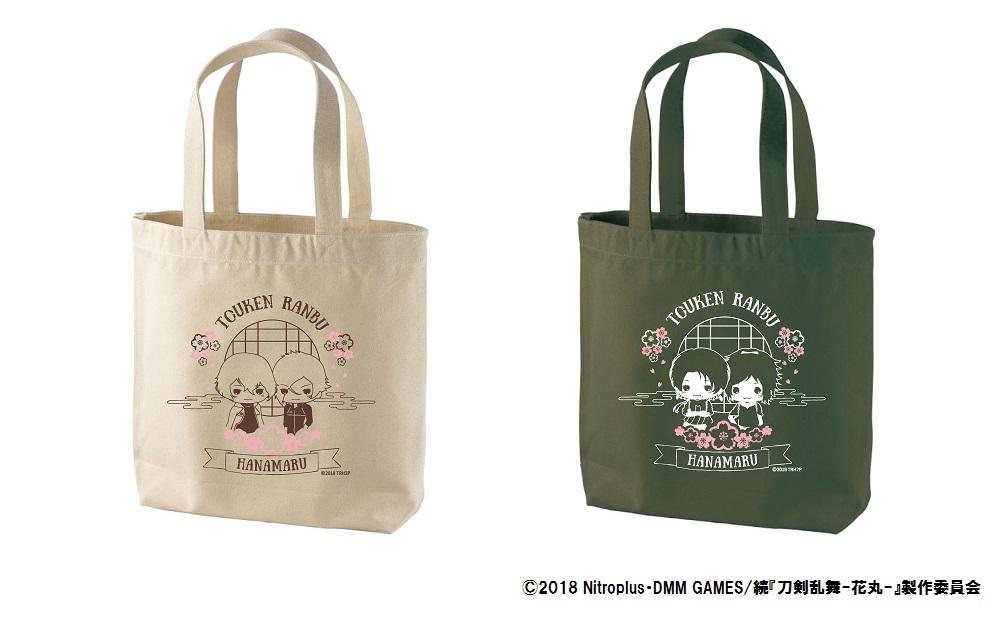 続『刀剣乱舞花丸-』キャンバストートバッグ 2種 2,500 円+税