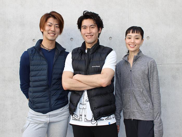 左から速水渉悟(ジーン)、福岡雄大(アラジン)、小野絢子(プリンセス) 西原朋未