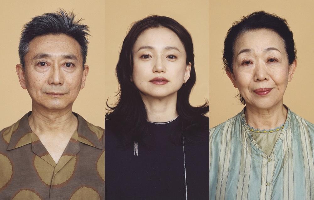 (左から)永作博美、山崎一、梅沢昌代