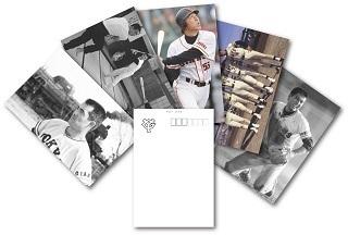 「オリジナルフレーム切手セット」に付属するポストカード