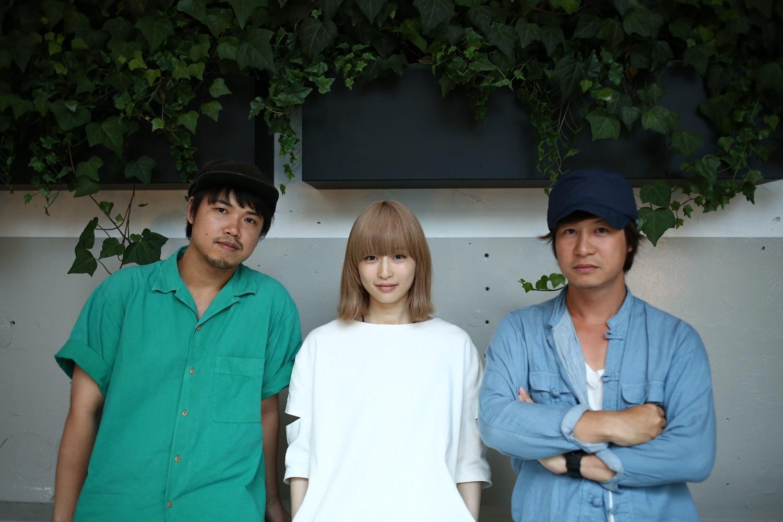 Awesome City Club・マツザカタクミ、PORIN / 森正志(L→R) 撮影=風間大洋