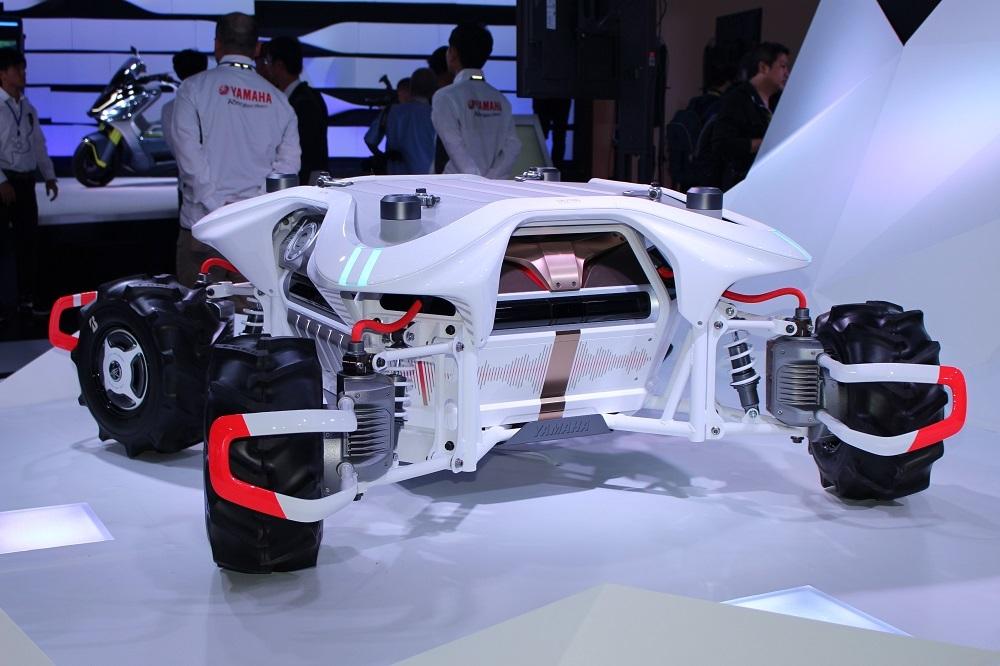 ヤマハの自律走行ロボット「Land Link Concept(ランドリンク コンセプト)」