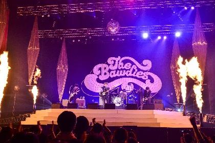 THE BAWDIES 日本武道館公演を映像&CDでリリース、6月からはに新曲初披露の全国ツアー開催