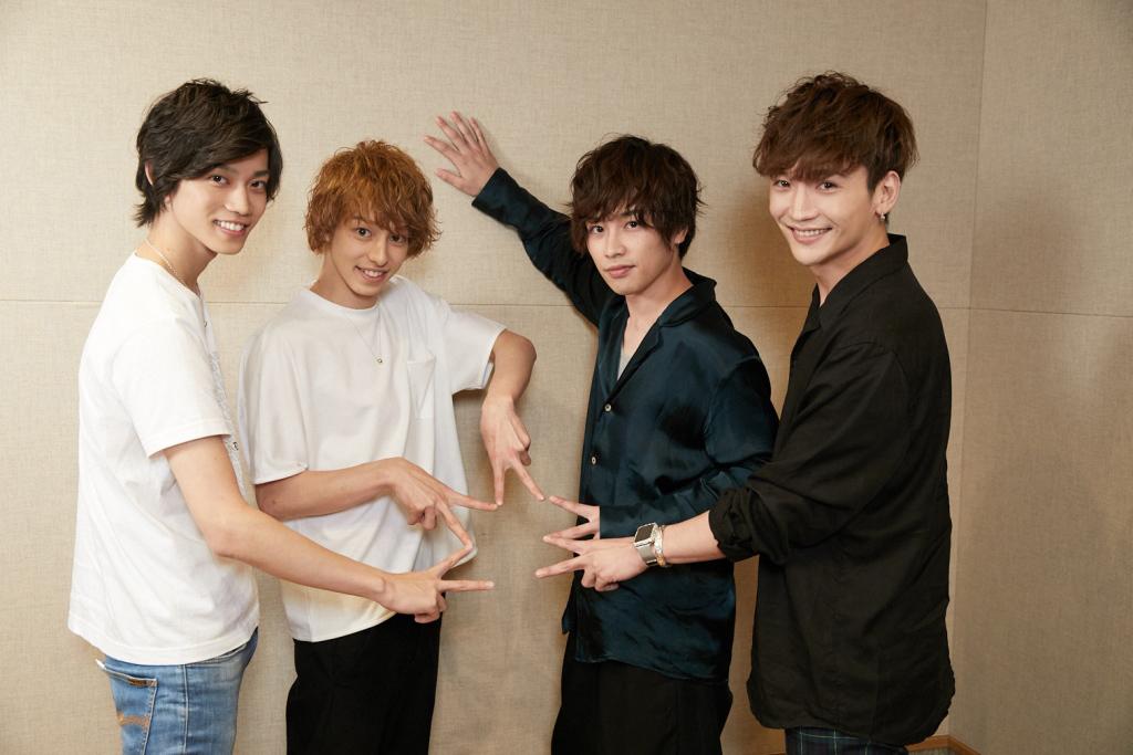 (写真左より)高橋健介、杉江大志、鈴木勝吾、丘山晴己