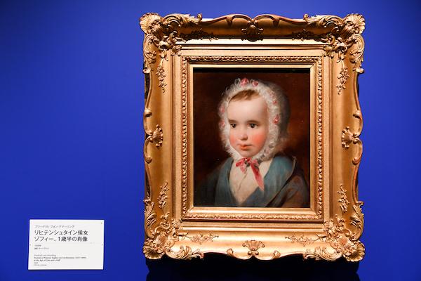 フリードリヒ・フォン・アマーリング《リヒテンシュタイン侯女ゾフィー、1歳半の肖像》 1838年、油彩・キャンヴァス 所蔵:リヒテンシュタイン 侯爵家コレクション、ファドゥーツ/ウィーン (C) LIECHTENSTEIN. The Princely Collections, Vaduz-Vienna