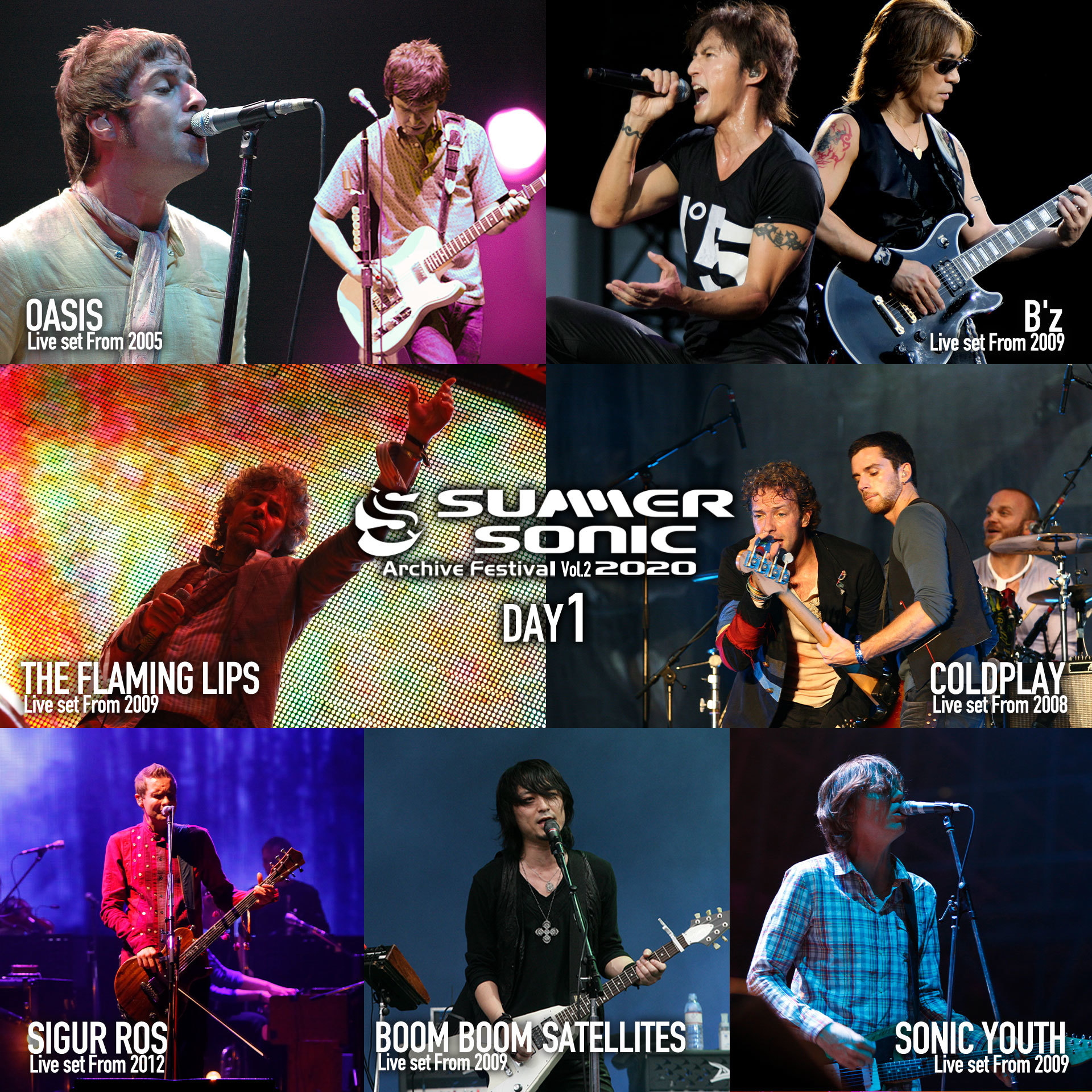 SUMMER SONIC 2020 ARCHIVE FESTIVAL-vol.2- Day1