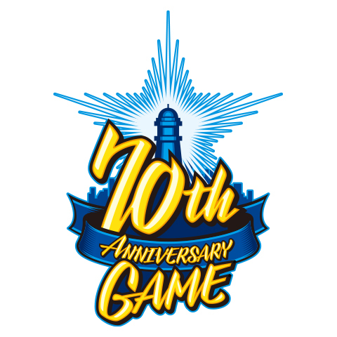選手が記念ユニフォームを着用する『70th ANNIVERSARY GAME』 (c)YDB