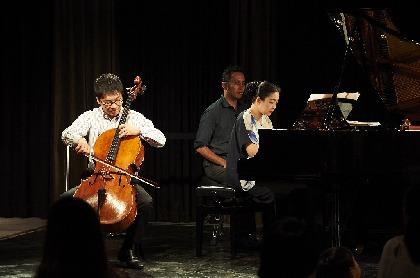 坂本真由美(ピアノ)と金子鈴太郎(チェロ)が届ける、聴かせて魅せる「楽しいクラシック」の世界