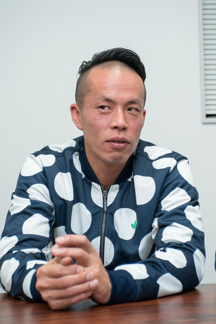 大植真太郎 (撮影:横山将勝)